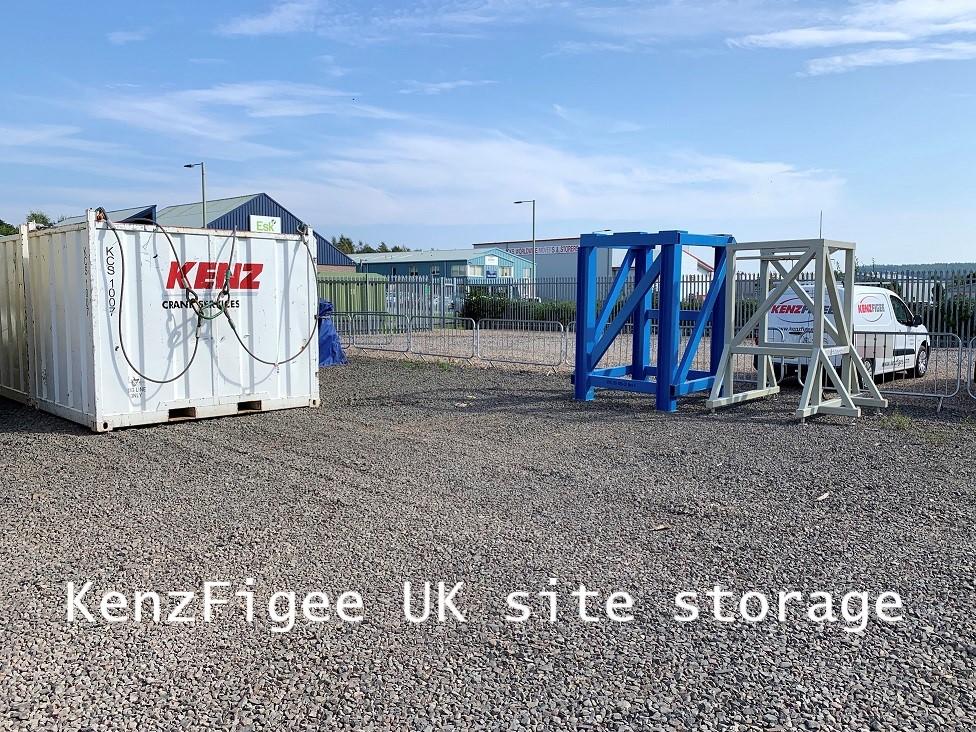 KenzFigee UK site storage